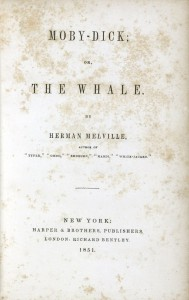 Moby-Dick title page